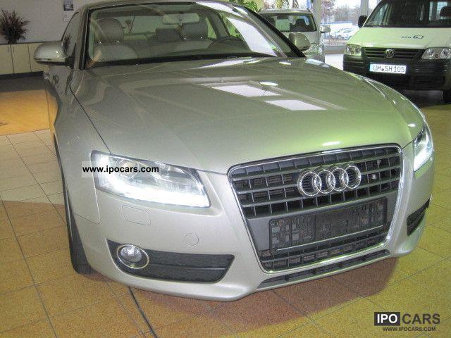 2007 Audi  A5 2.7 TDI multitronic Sports car/Coupe Used vehicle photo