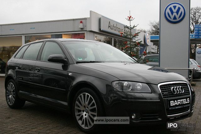 2008 Audi  A3 SPB. 3.2 V6 quattro (DSG) Leather / Navi / Xenon Limousine Used vehicle photo