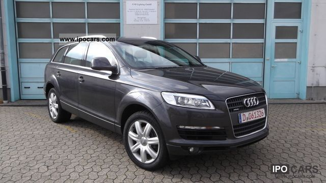 2006 audi q7 3 0 tdi air suspension xenon pdc led car photo and specs. Black Bedroom Furniture Sets. Home Design Ideas