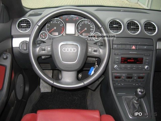 2008 Audi A4 Cabriolet 18 T Climate Leather Xenon Pdc Car Photo