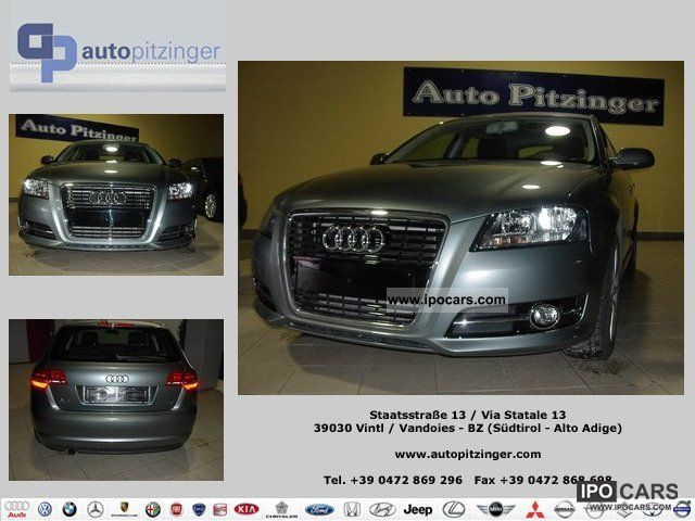 2011 Audi  A3 1.6 1.6 TDI CR SPB F.AP. Ambition Small Car Used vehicle photo
