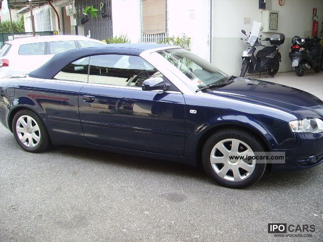 2007 audi a4 cabriolet 2 0 tdi multitr fap car photo and specs. Black Bedroom Furniture Sets. Home Design Ideas