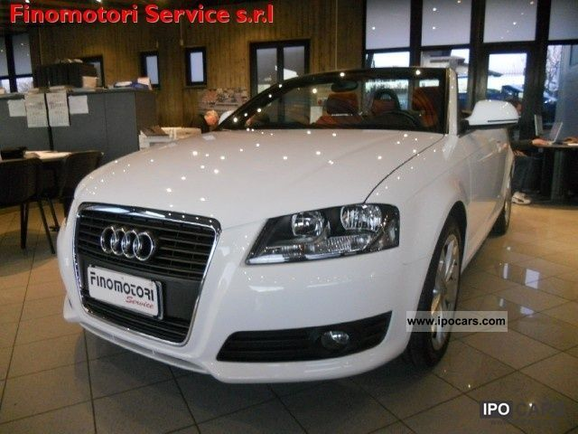 2009 Audi  A3 Convertible 2.0 TDI F.A.P. AMBITION Cabrio / roadster Used vehicle photo
