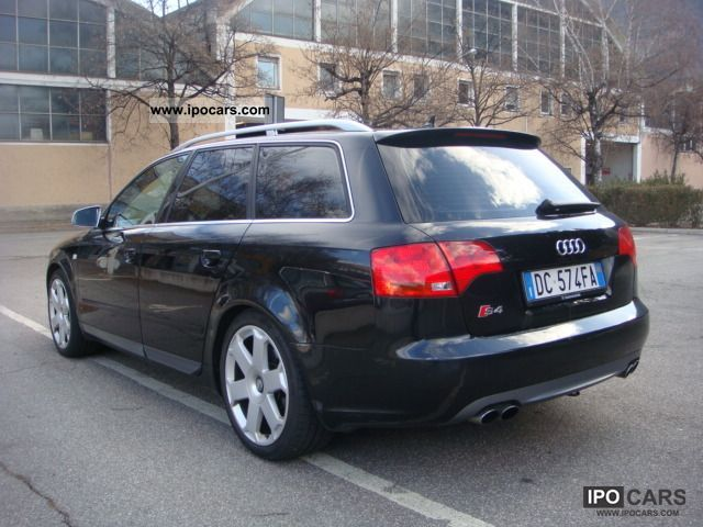 2006 audi s4 avant black dream car car photo and specs. Black Bedroom Furniture Sets. Home Design Ideas
