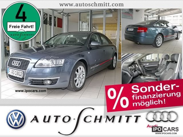 2006 Audi  A6 Saloon 2.7 TDI Schiebed. Xenon LederAlc. St Limousine Demonstration Vehicle photo