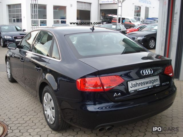 2009 audi a4 saloon 2 0 tdi 136 ps car photo and specs. Black Bedroom Furniture Sets. Home Design Ideas