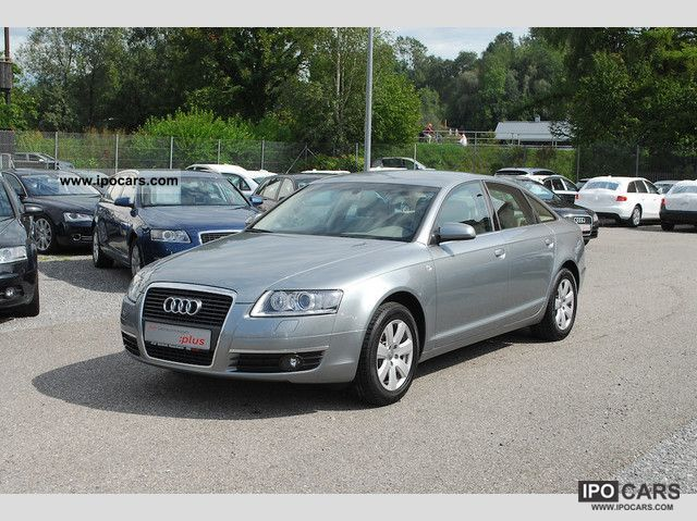 2007 audi a6 saloon 2 4 xenon leather car photo and specs. Black Bedroom Furniture Sets. Home Design Ideas
