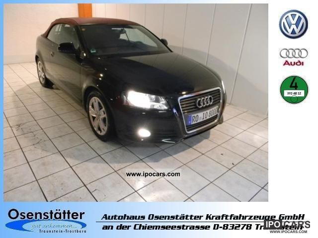 2010 Audi  A3 Cabriolet 1.2 TFSI 'Ambition' Cabrio / roadster Used vehicle photo