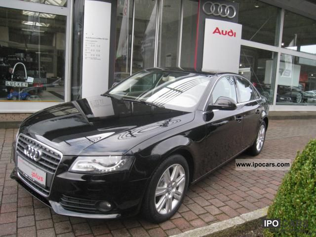 2009 audi a4 2 7 tdi multitronic ambience navi xenon leather car photo and specs. Black Bedroom Furniture Sets. Home Design Ideas