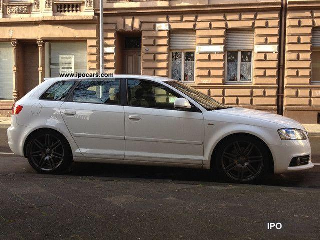 2008 Audi  Sportback 2.0 TDI quatro Sline sport package (plus) Limousine Used vehicle photo