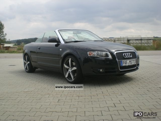 2007 audi a4 cabriolet 2 0 tfsi car photo and specs. Black Bedroom Furniture Sets. Home Design Ideas