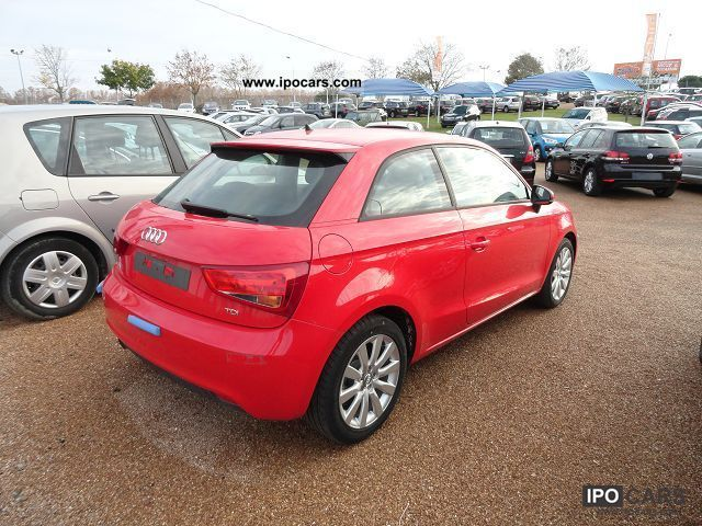 2012 audi a1 1 6 tdi 105 attraction clim car photo and specs. Black Bedroom Furniture Sets. Home Design Ideas