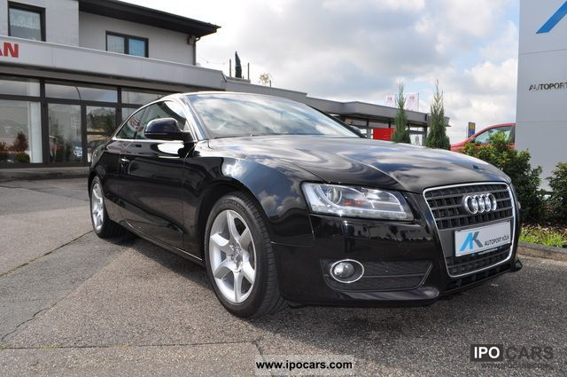 2008 audi a5 2 7 tdi automatic navi xenon car photo and specs. Black Bedroom Furniture Sets. Home Design Ideas