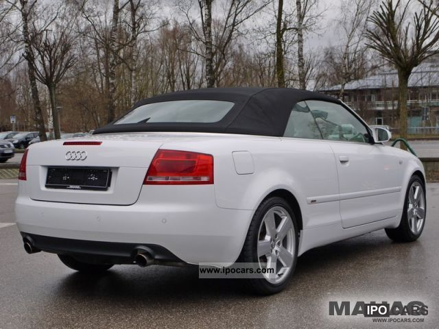 2008 audi a4 cabriolet 2 0 tfsi 6 speed navi xenon car. Black Bedroom Furniture Sets. Home Design Ideas