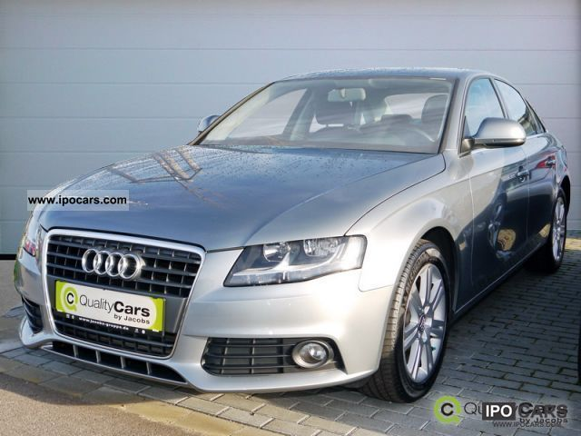 2008 Audi  A4 2.7 TDI with MMI navigation system, cruise control, air car Limousine Used vehicle photo