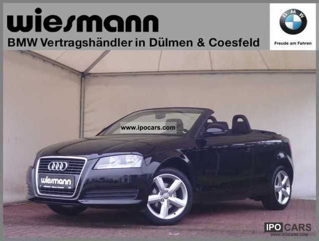 2008 Audi  A3 Convertible seats Alloy wheels Cabrio / roadster Used vehicle photo