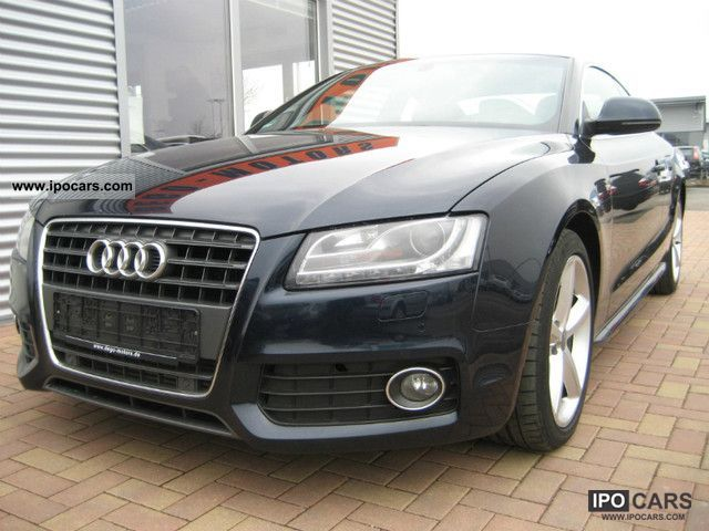2009 Audi  A5 2.7 TDI S-LINE * NAVI * XENON * PAN * Sports car/Coupe Used vehicle photo