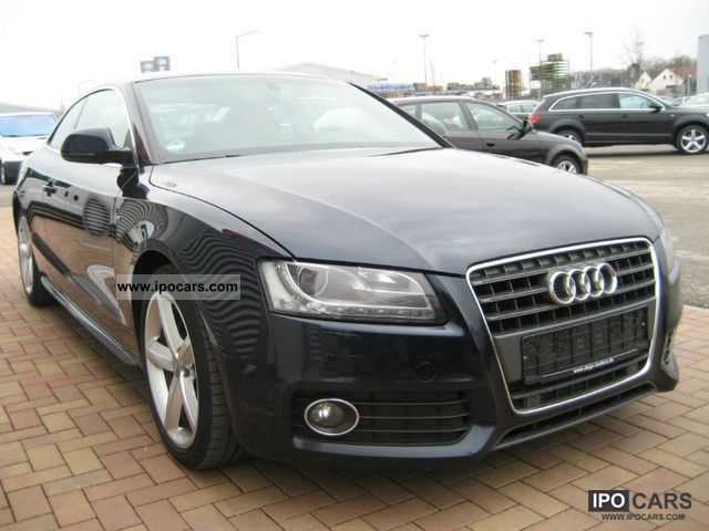 2009 audi a5 2 7 tdi s line navi xenon pan car photo and specs. Black Bedroom Furniture Sets. Home Design Ideas