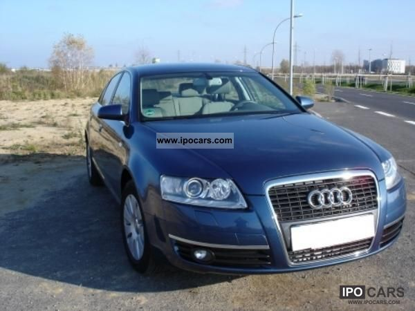 2007 audi a6 xenon navi car photo and specs. Black Bedroom Furniture Sets. Home Design Ideas