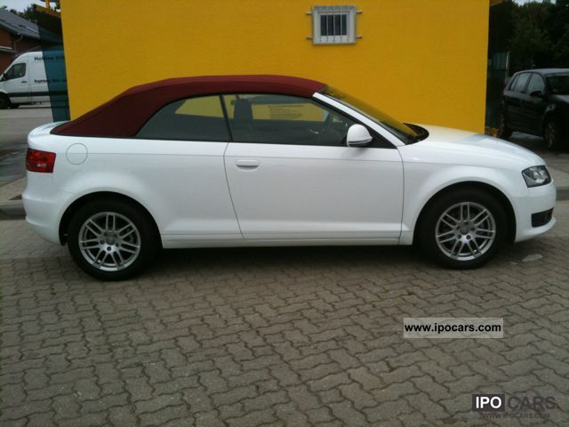 2012 Audi  A3 Cabriolet 1.9 TDI Attraction Cabrio / roadster Used vehicle photo