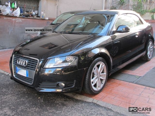 2008 Audi  A3 Convertible 2.0 TDI F.AP. Ambition Cabrio / roadster Used vehicle photo