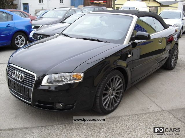 2006 audi a4 cabriolet 2 0 tfsi s line multitronic full car photo and specs. Black Bedroom Furniture Sets. Home Design Ideas