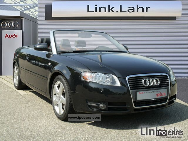 2007 Audi A4 Cabriolet Tdi Leather Car Photo And Specs