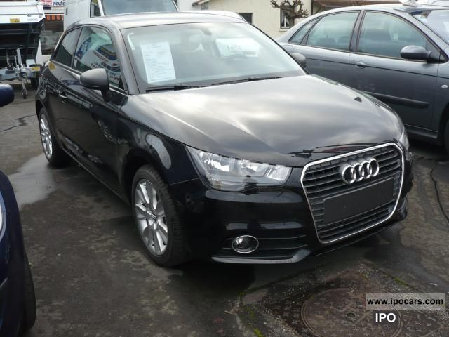 2012 Audi  A1 1.6 TDI 105 Ambition Clim Car Limousine Used vehicle photo