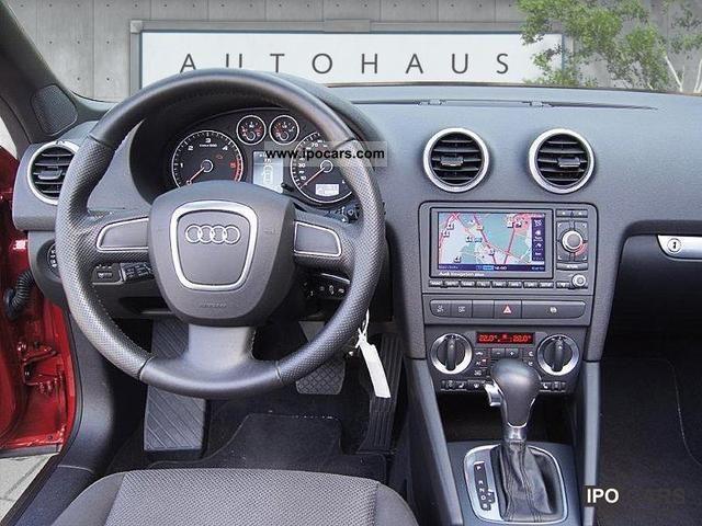 2008 Audi  A3 Convertible Attraction S tronic xenon plus Cabrio / roadster Used vehicle photo