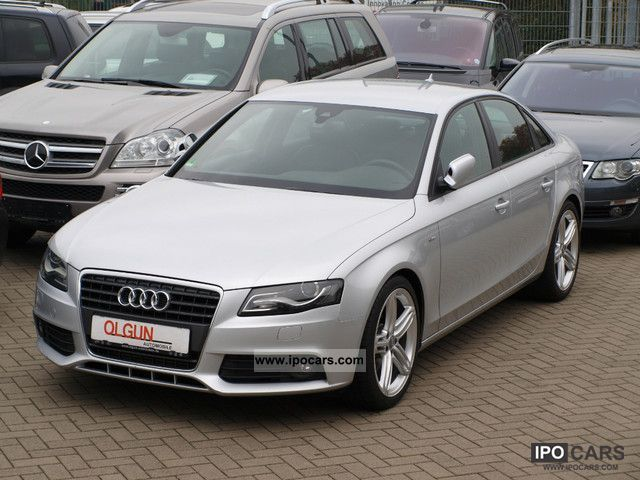 2009 audi a4 2 0 multitronic s line plus 48 000 np euro5 car photo and specs. Black Bedroom Furniture Sets. Home Design Ideas