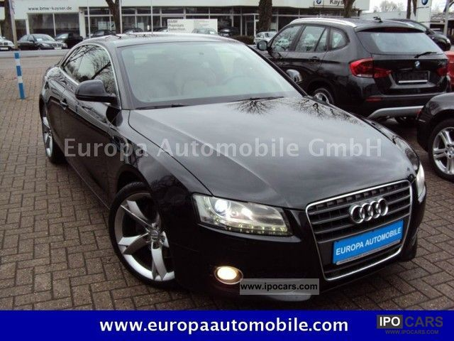 2009 Audi  A5 2.7 TDI Leather Steering Wheel Multi-xenon light PDC Sports car/Coupe Used vehicle photo