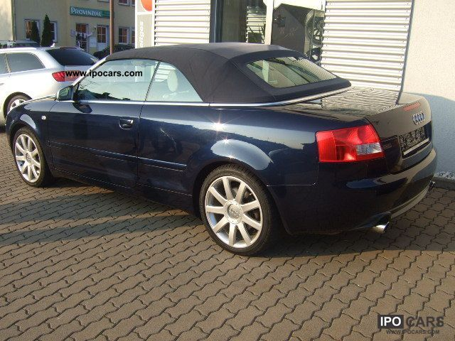 2004 audi s4 cabriolet car photo and specs. Black Bedroom Furniture Sets. Home Design Ideas