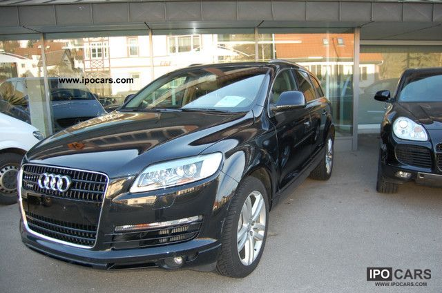 2006 Audi  Q7 3.0 TDI Navi Xenon 20-inch S-line particle filter Off-road Vehicle/Pickup Truck Used vehicle photo
