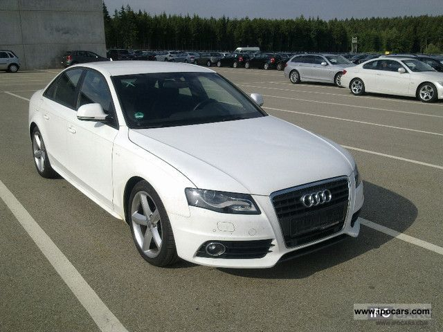 2008 audi a4 2 7 tdi s line plus xenon plus b o navi car photo and specs. Black Bedroom Furniture Sets. Home Design Ideas