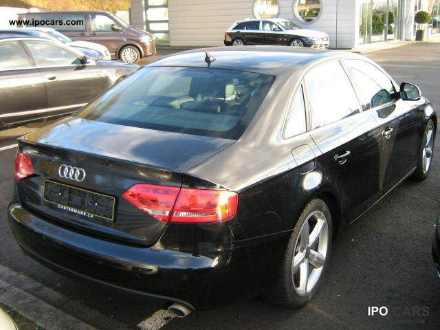 2008 audi a4 2.7 tdi multitronic ps 190 - car photo and specs
