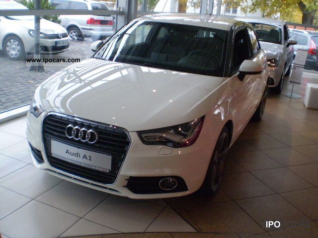 2012 Audi  A1 Ambition 1.6 TDI 77 (105) kW (PS) 5-speed Limousine Demonstration Vehicle photo