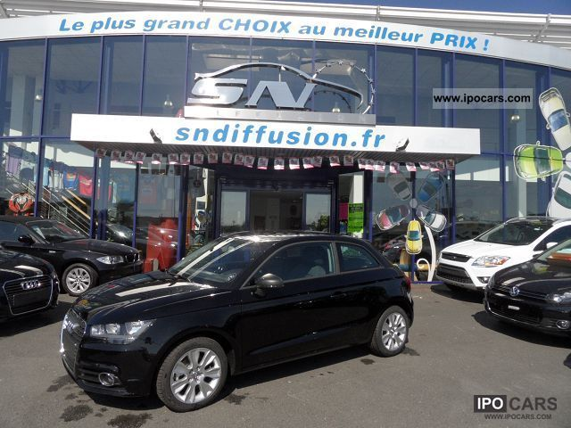 2012 Audi  A1 1.6 TDI 105 AMBITION Limousine Used vehicle photo