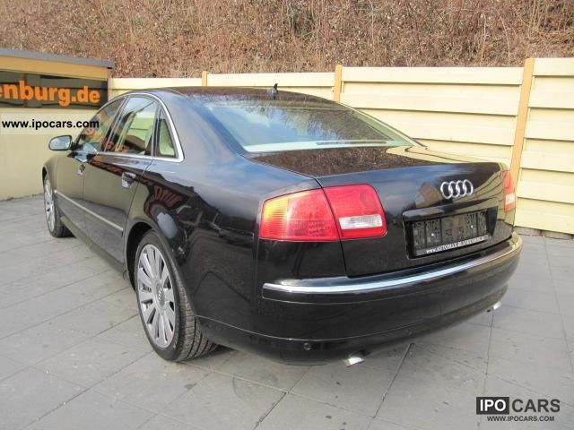 2007 Audi  A8 3.0 TDI Leather Navi Xenon SD AHK Standhzg Limousine Used vehicle photo