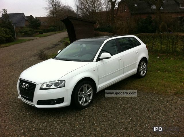 2009 audi a3 2 0 tfsi s tronic leather panorama xenon 1hd aluminum car photo and specs. Black Bedroom Furniture Sets. Home Design Ideas