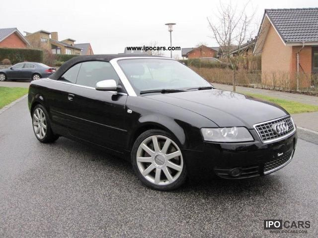 2005 audi s4 cabriolet tiptronic car photo and specs. Black Bedroom Furniture Sets. Home Design Ideas