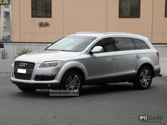 2007 audi q7 3 0 tdi quattro tiptronic car photo and specs. Black Bedroom Furniture Sets. Home Design Ideas