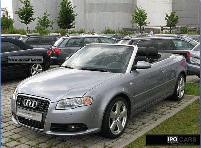 2006 audi a4 cabriolet 2 0 tfsi multitronic car photo and specs. Black Bedroom Furniture Sets. Home Design Ideas