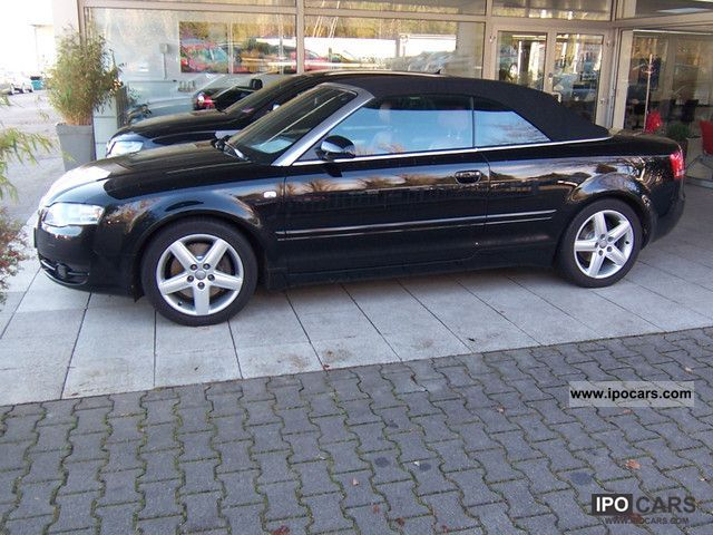 2008 audi a4 cabriolet 3 0 tdi quattro new service car. Black Bedroom Furniture Sets. Home Design Ideas