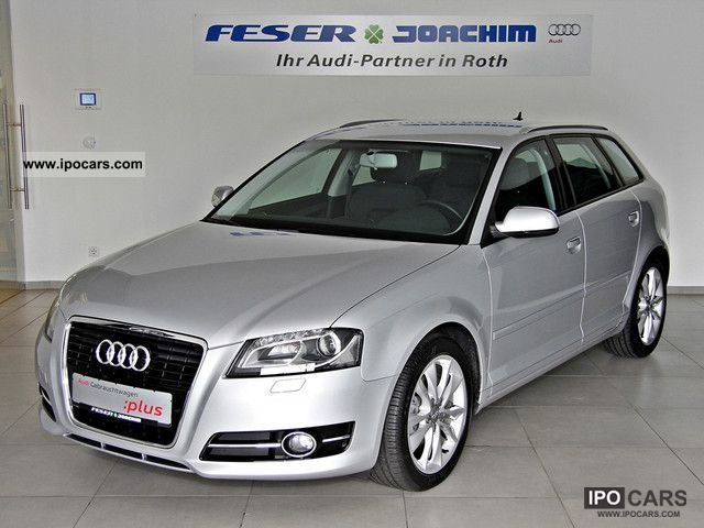 2011 Audi  A3 SPB. Ambition 2.0 TDI S tronic-Navi, Xenon Estate Car Employee's Car photo