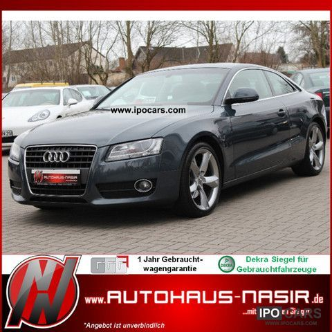 2007 Audi  A5 2.7 TDI DPF multitronic/NaviPlus/Leder/19ZOLL Sports car/Coupe Used vehicle photo