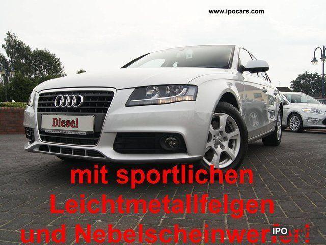 2010 Audi  A4 2.0 TDI + Start-Stop Auto. + Bluetooth + Limousine Used vehicle photo