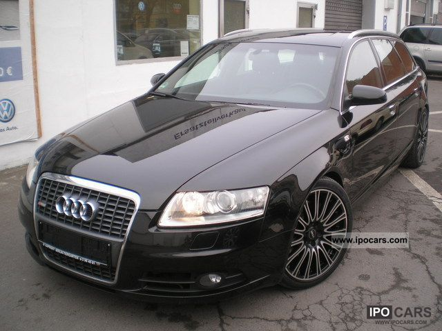 2006 audi a6 3 0 tdi dpf s line quattro avant sport plus car photo and specs. Black Bedroom Furniture Sets. Home Design Ideas