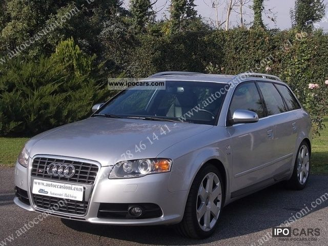 2006 audi s4 4 2 v8 quattro tiptronic avant car photo. Black Bedroom Furniture Sets. Home Design Ideas