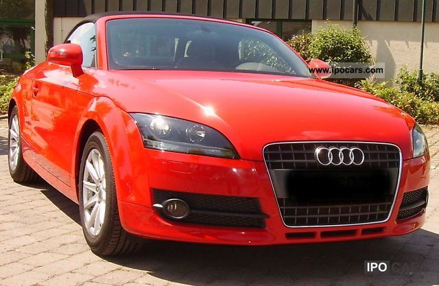 2009 audi tt roadster 1 8 tfsi car photo and specs. Black Bedroom Furniture Sets. Home Design Ideas