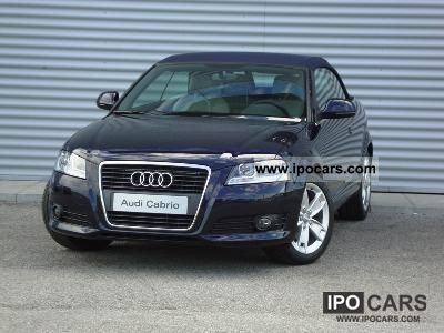 2010 Audi  A3 Convertible 2.0 TDI F.AP. Ambition Cabrio / roadster Used vehicle photo